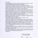 Lettera del Direttore Lega Pro Ghirelli