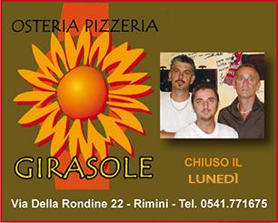 Osteria Girasole - Via della Rondine 22 Rimini
