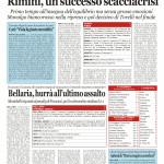 Nuovo Quotidiano di Rimini del 29/09/2014