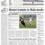 Corriere Romagna del 13/10/2014