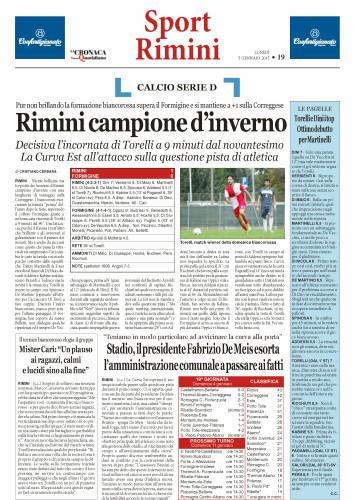 Nuovo Quotidiano di Rimini 05/01/15