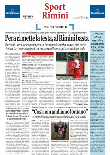 Nuovo Quotidiano di Rimini 12/1/15