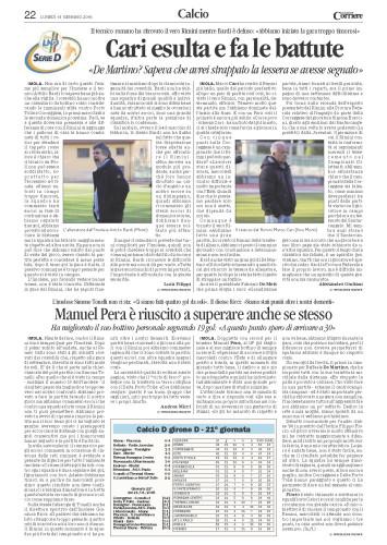 Corriere Romagna 19/01/2015