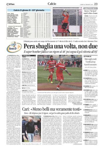 Corriere Romagna 26/01/15