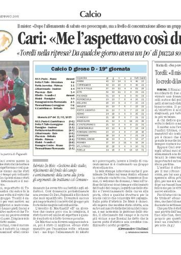 Corriere Romagna 05/01/15