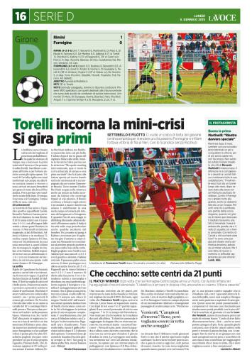 La Voce di Romagna 05/01/15