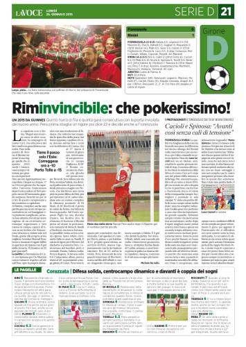 La Voce di Romagna 26/01/15
